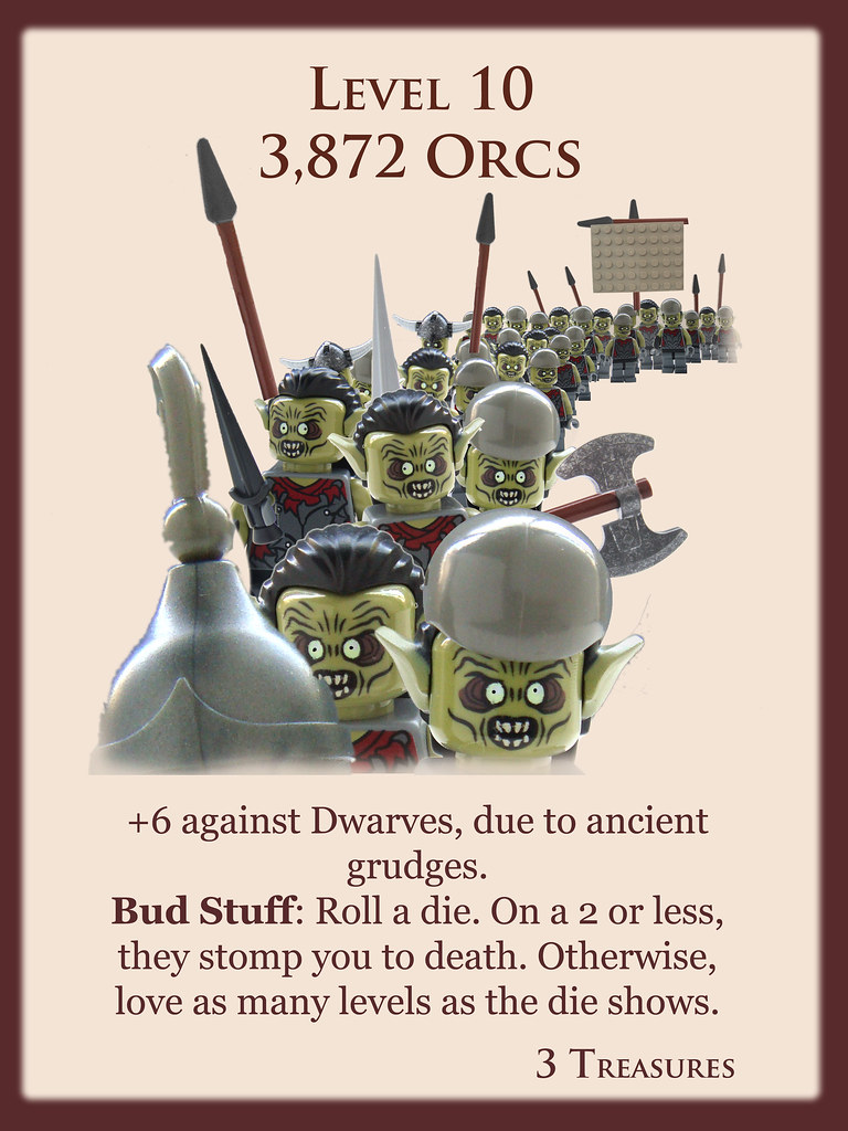 Level 10  3872 Orcs  Another in my series of Brickatiz  Flickr