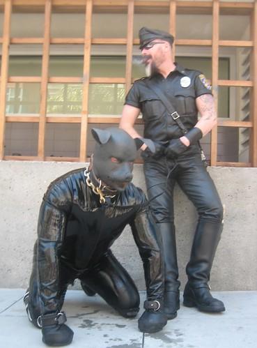 folsom street fair rubber dog  Ethreon  Flickr