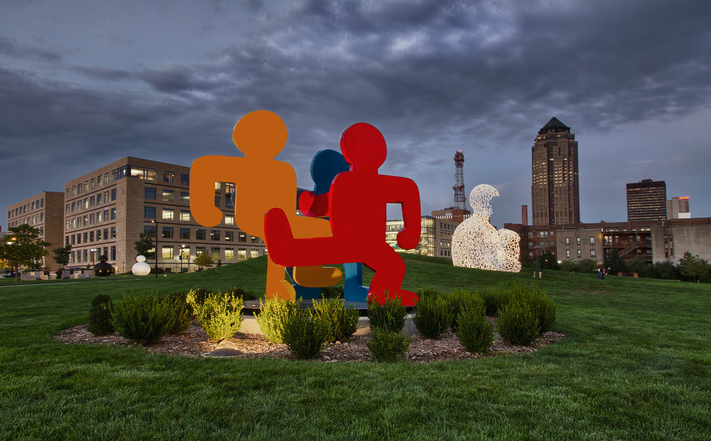 Pappajohn Sculpture Park Des Moines IA The John And