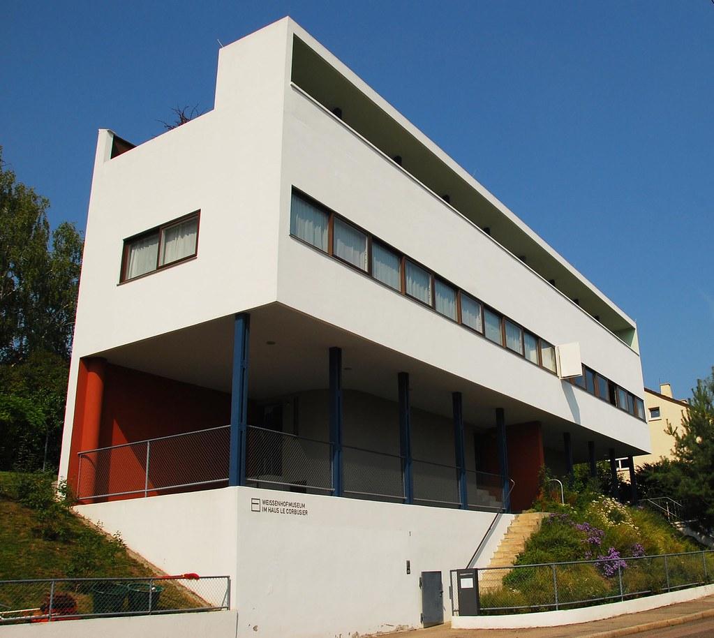 Corbusier At Weissenhof Estate Headquarters Of The