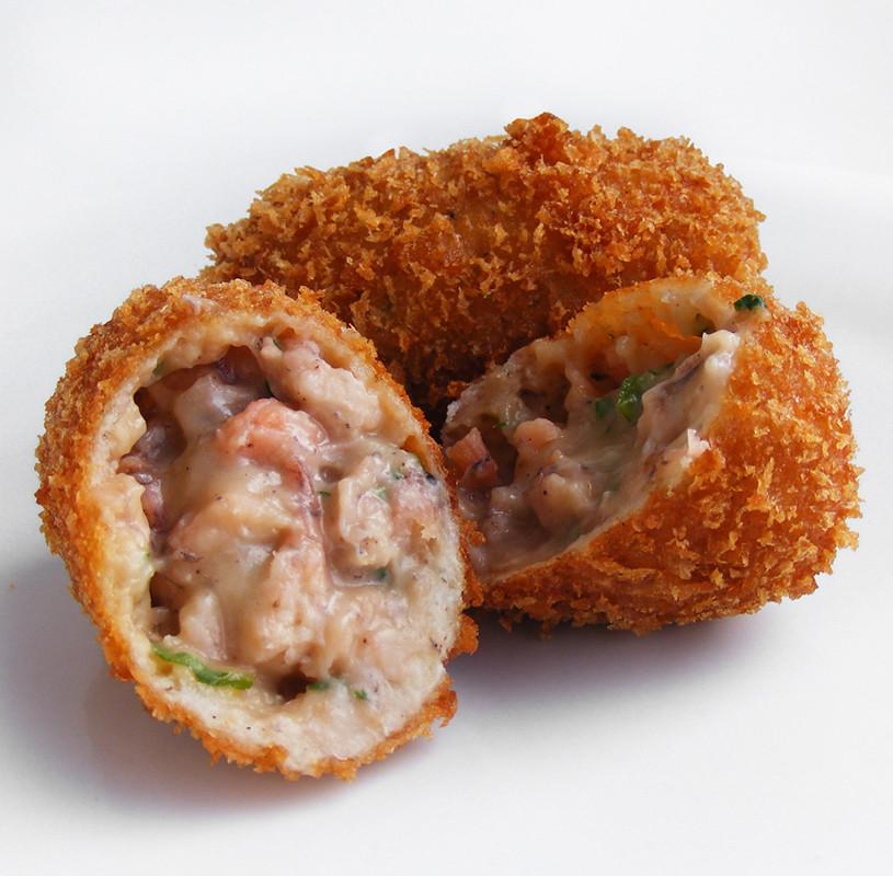 Garnalenkroket Grey Shrimp Croquettes A Dutch Or Even