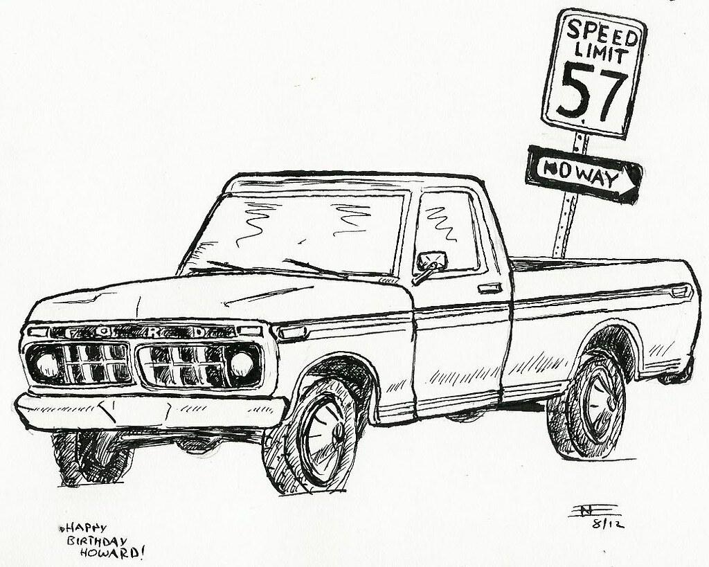 Ford Truck Custom Dash