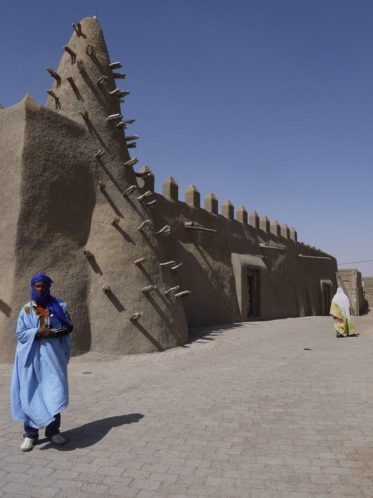 Mud Mosque Timbuktu Mali Gina Gleeson Flickr