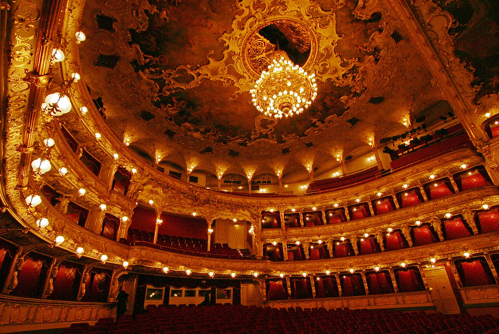 Staatsoper Prag  interior of Prague State Opera formerly k  Flickr