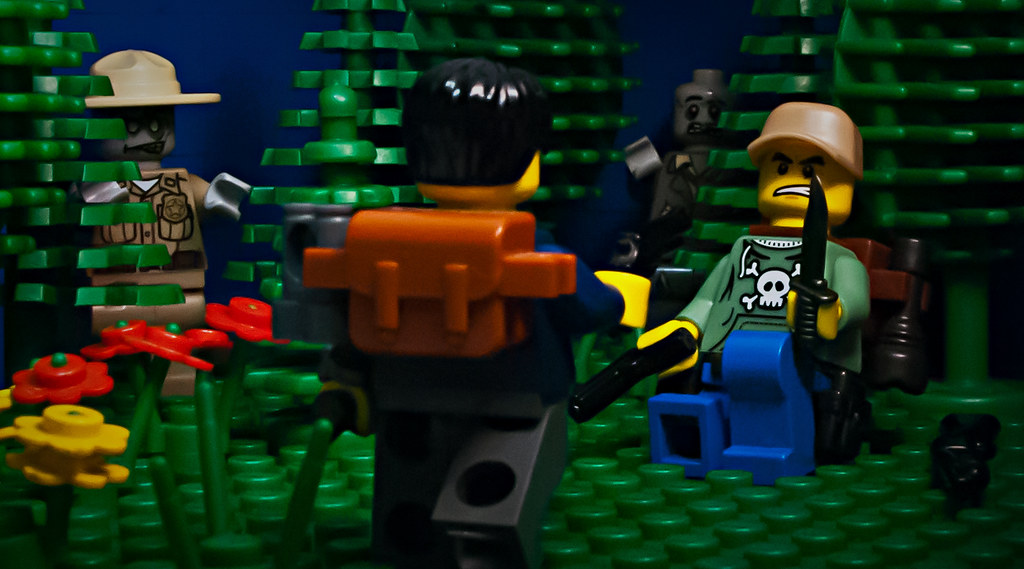 Lego Zombie Survivors Trouble is a brewing  A word of