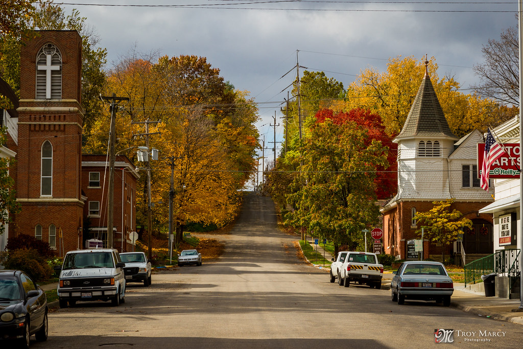 Fall In Chicago Wallpaper Small Town America Petersburg Il I Was Visiting My