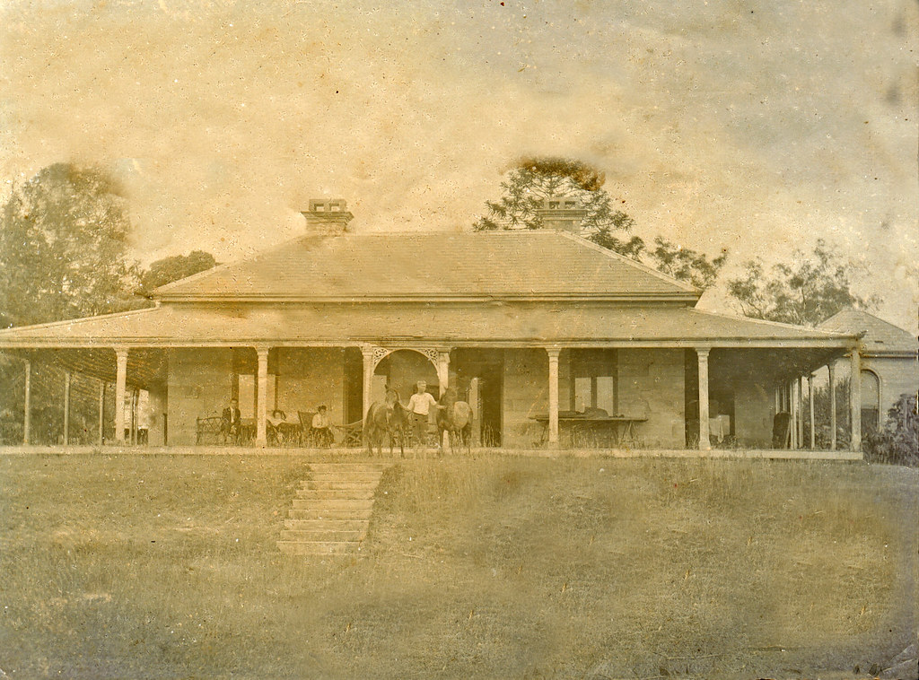 Herston House In Brisbane Australia Circa 1900 This
