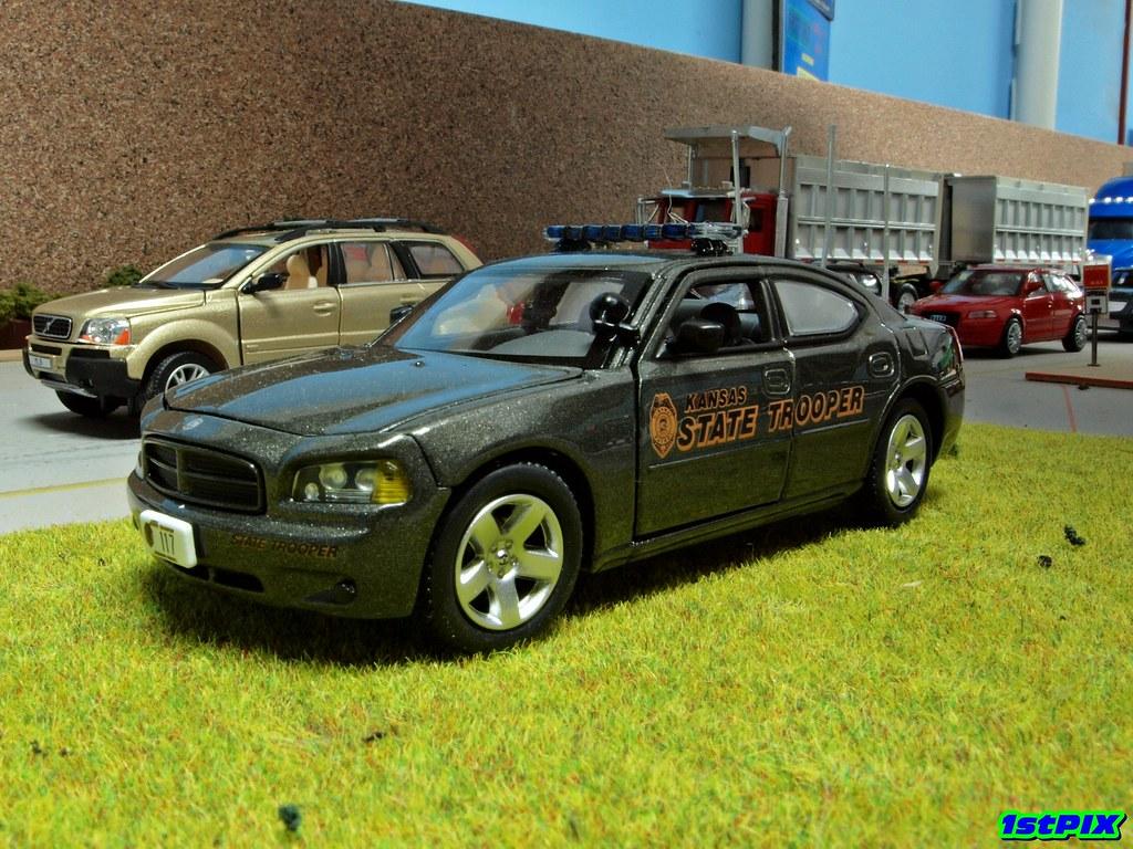 Kansas Highway Patrol Dodge Charger  A Kansas State