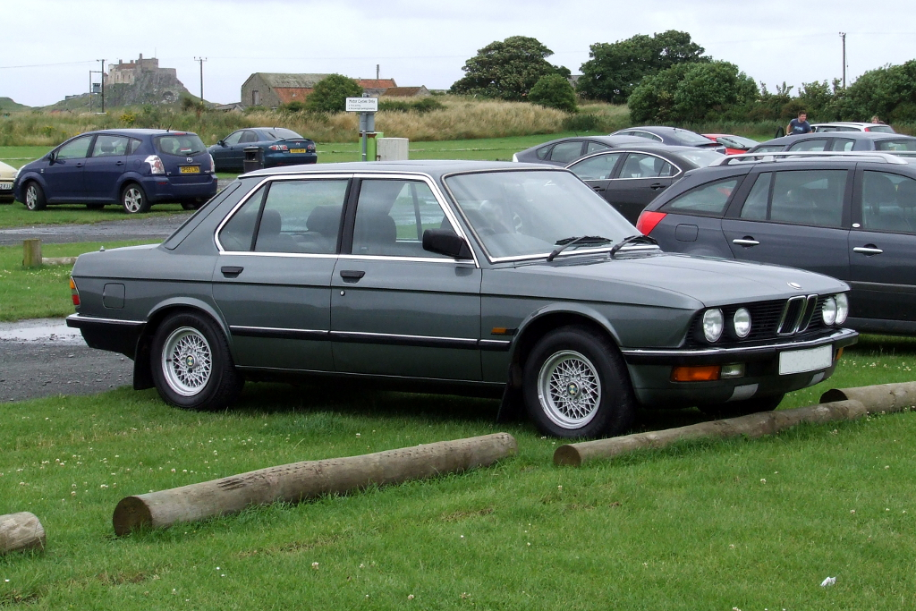 BMW E28 520i LUX  My Delphin Grey Shark Nose Baby Six