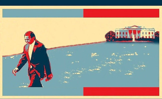Updated Obama Hope Poster 3 Hit The Road Jack Obama