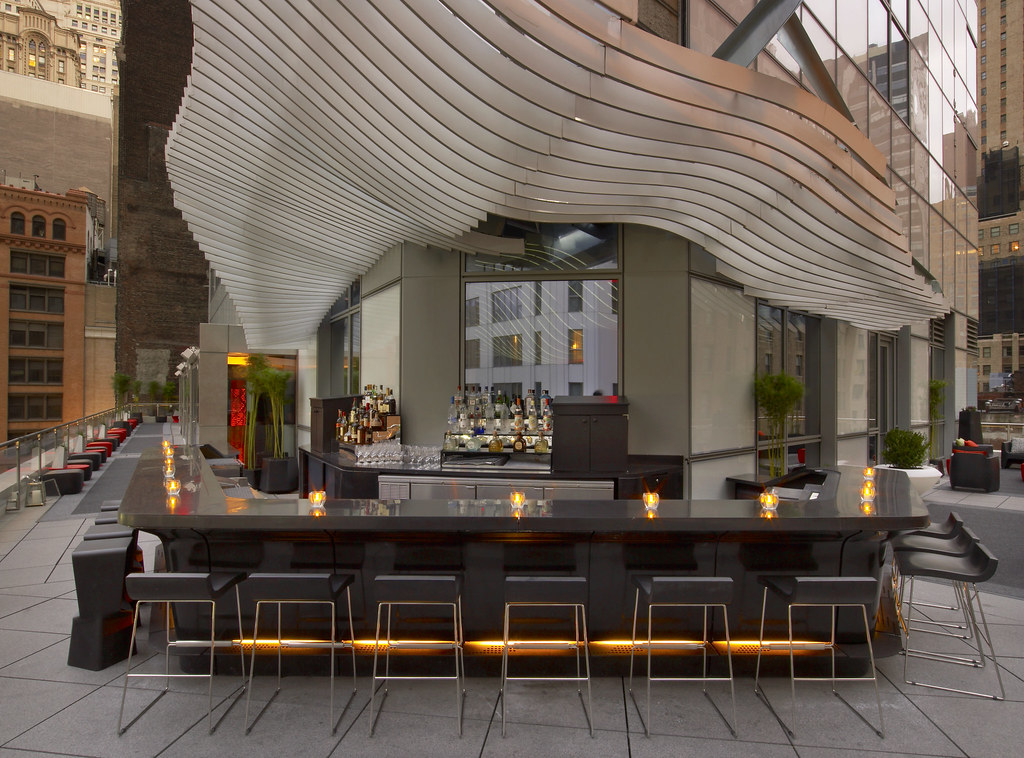 W New York  DowntownLiving Room Bar and Terrace  Living R  Flickr