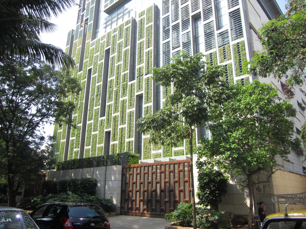 Antilias living green walls  Antilia is named after