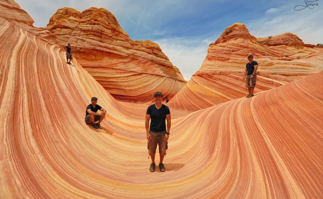 The Wave Coyote Buttes Arizona Carry Lots Of Water 2