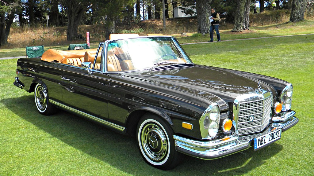 1970 Mercedes Benz 280se Convertible