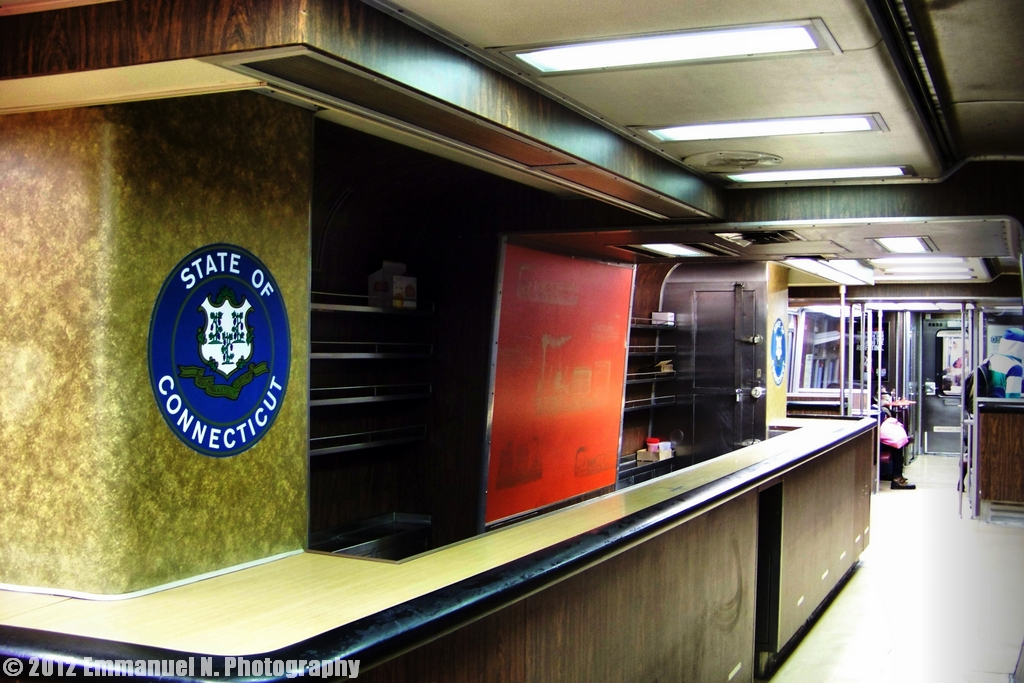 MetroNorth GE M2 Bar Car  A view of the Bar Car  Flickr