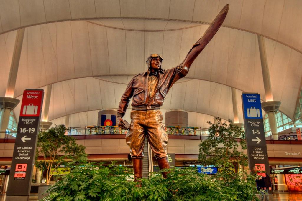 Jeppesen Terminal Denver International Airport Elrey