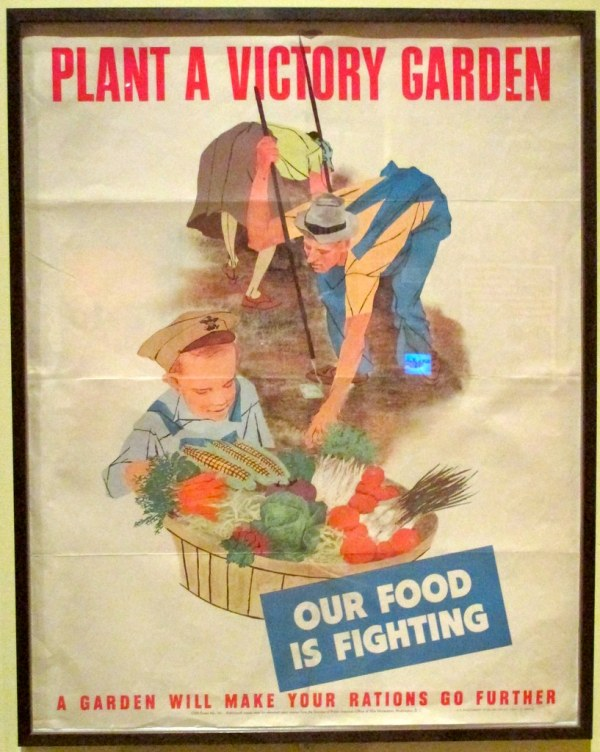 Plant Victory Garden - Poster Oakland Museum Of