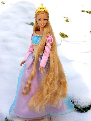 Barbie Rapunzel  Shes the wedding version but Ive
