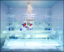 #10 Le Meridien Chambers Hotel' Ice Chamber Bar Check