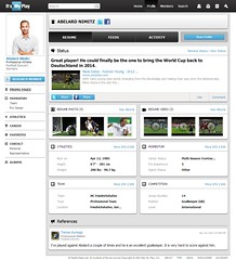 EXAMPLE OF A PROFESSIONAL SOCCER PLAYER RESUME Global Spo Flickr