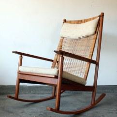 Danish Modern Rocking Chair Flip For Adults Hans Olsen Teak Tea Flickr