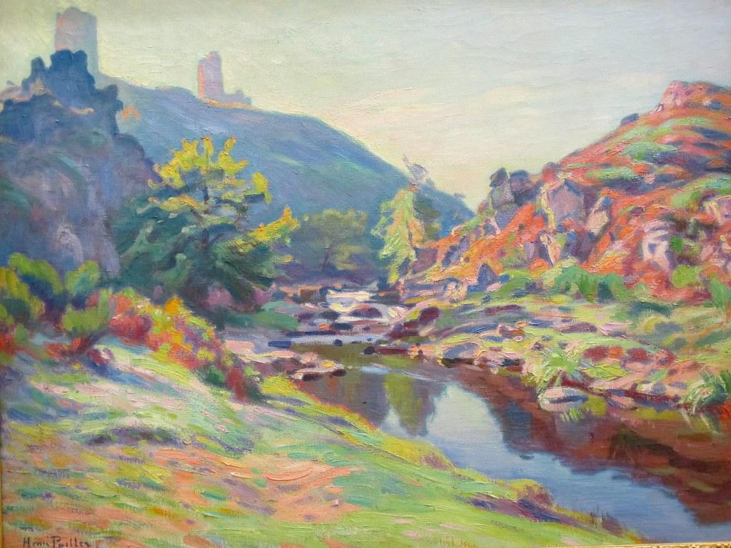 Vue sur les ruines de Crozant Henri Pailler 18751954   Flickr