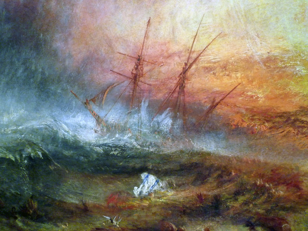 Christian Wallpaper Hd 3d Jmw Turner Slave Ship Detail Of Ship Joseph Mallord