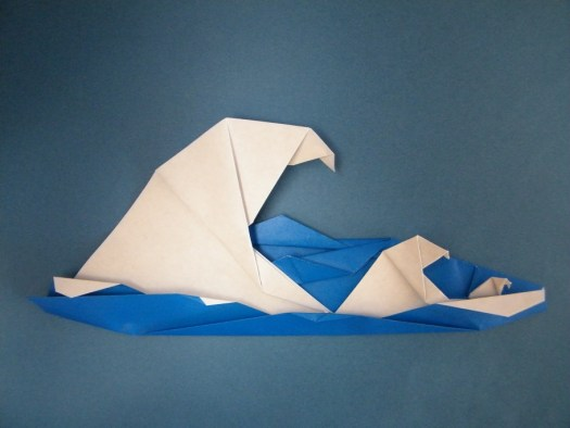 Origami Wave Tutorial Handmade