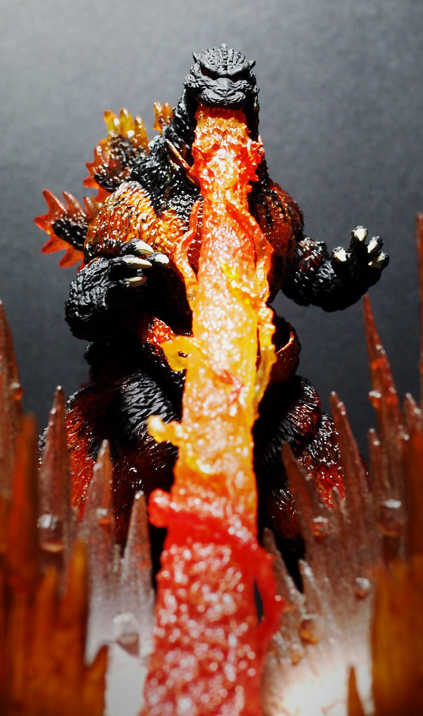 Monster 3d Wallpaper Burning Godzilla S H Monster Arts Merry Christmas