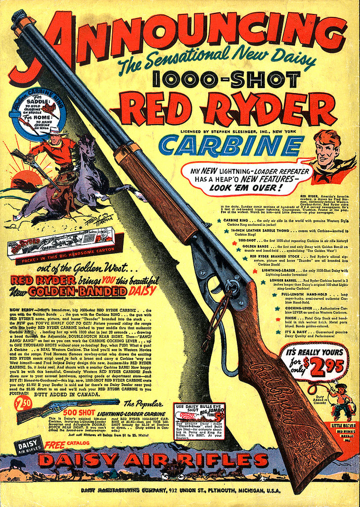Red Ryder BB Gun Ad  If you have ever watched A Christmas
