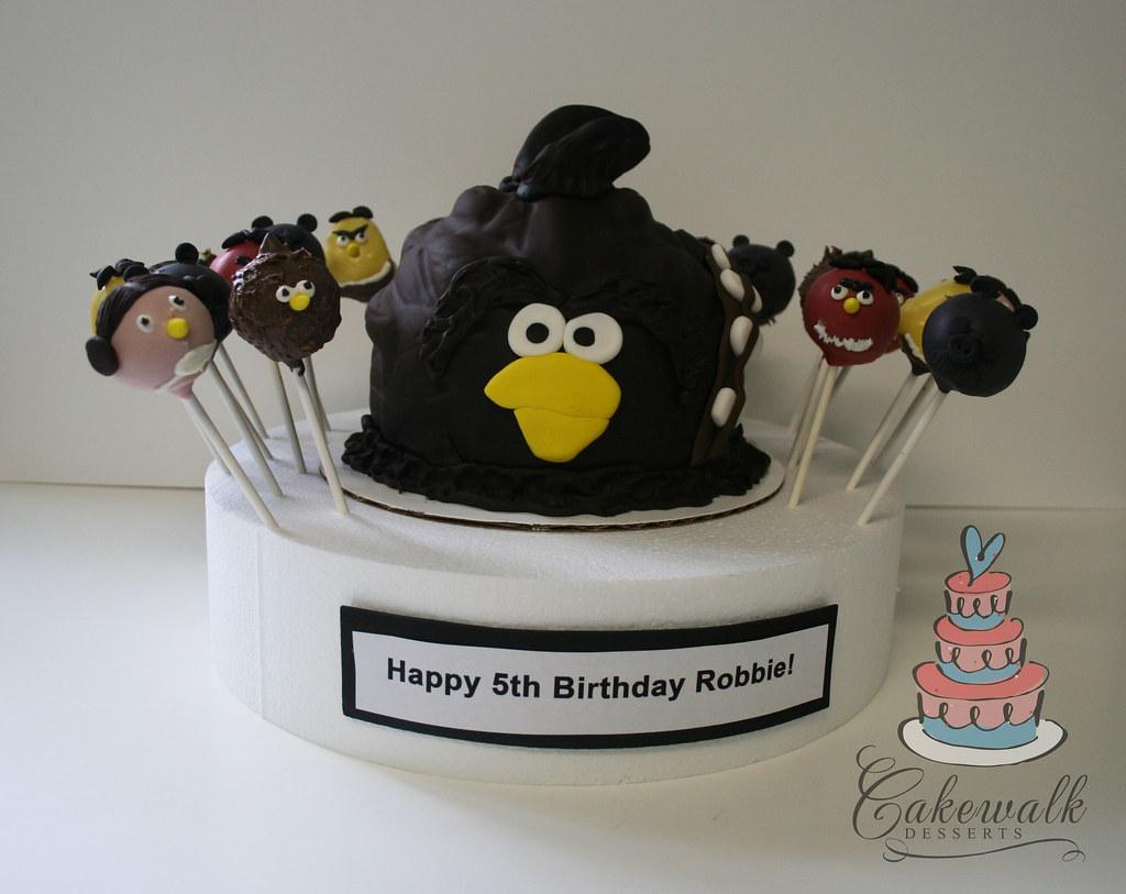 Angry Birds Star Wars Cake Amp Cake Pops