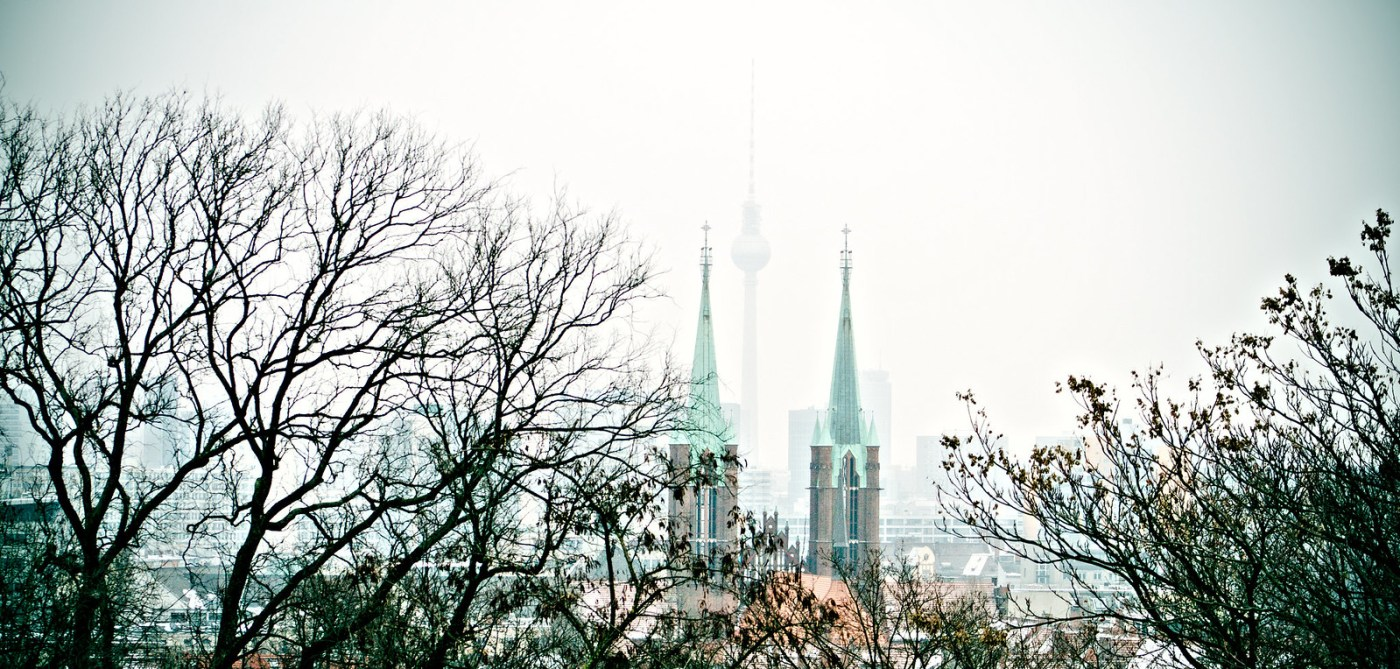 finding the fernsehturm