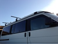 rear Yakima roof rack on Eurovan - rear + middle position ...