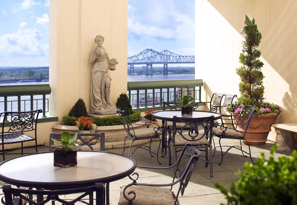 The Westin New Orleans Canal PlaceRiverbend Terrace Patio