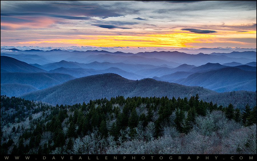 Panoramic Wallpaper Fall Blue Ridge Parkway Landscape Photography Hazy Shades Of