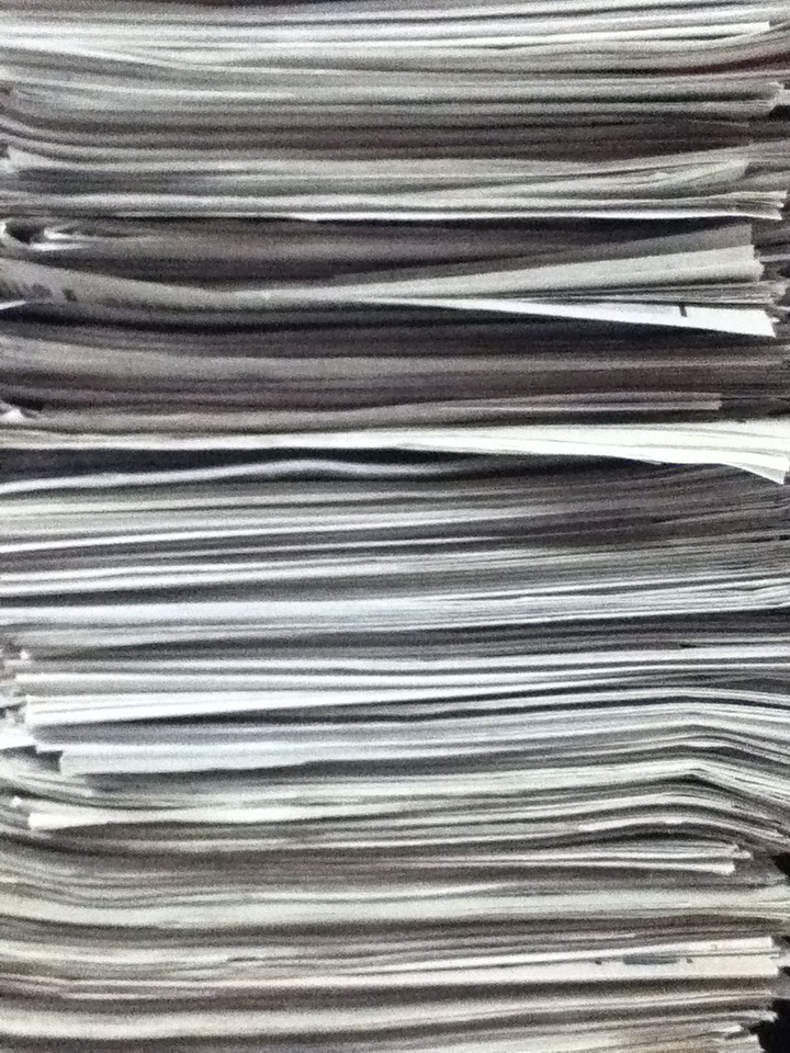 Bunch of Papers  an endless stack of papers  Seiichi
