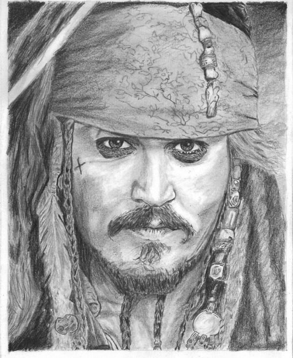 Desenho Johnny Depp Ou Personagens Burton