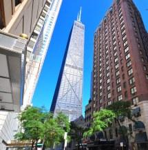Street View Of Whitehall Hotel Landmark Chicago