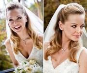 celebrity wedding hairstyles veil