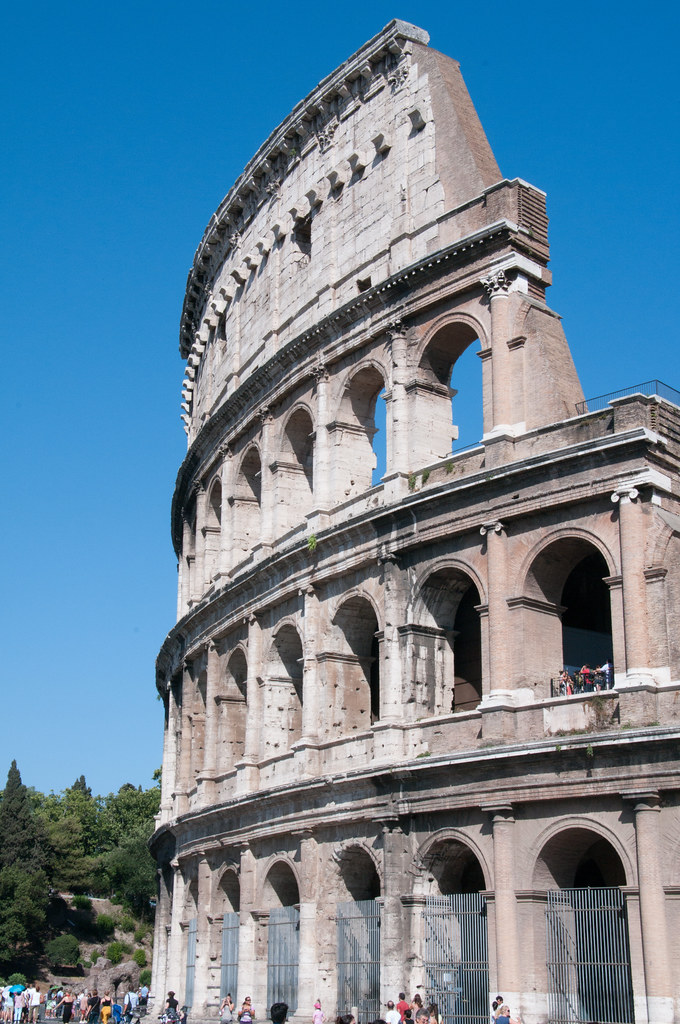 Colosseum Portrait  Dave King  Flickr