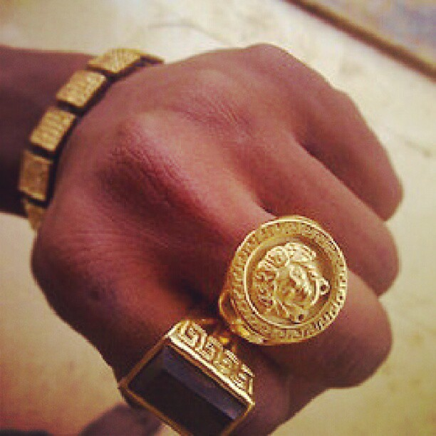 VERSACE rings for sale  on Instagram instagrampW