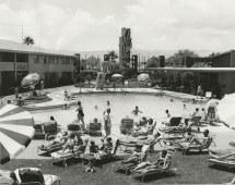 Guests Sands Hotel Pool Las Vegas