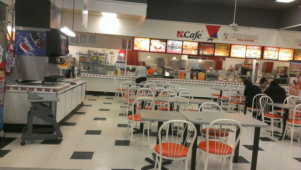 orange cafe chairs wheelchair lights kmart - carroll, iowa new tables and at little ca… | flickr
