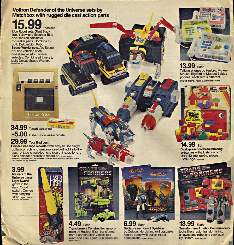 TARGET Voltron And Other Toys RANDOM Sunday News