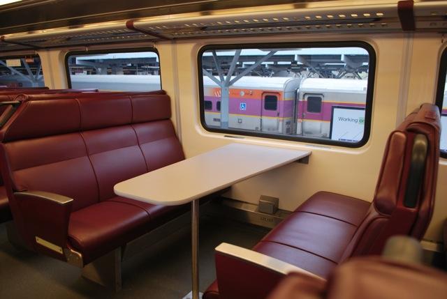 MBTA New Commuter Rail Coaches April 25 2013 The
