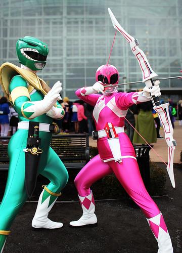 Bed Ranger Green Ranger And Pink