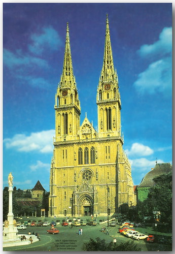 5692 R Zagreb Katedrala ca 1980 izdaje Odbor Zagrebake na