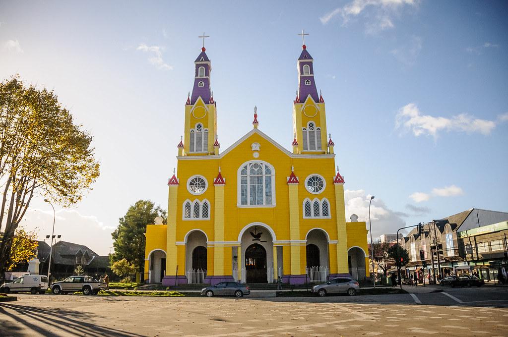 Iglesia San Francisco Castro Chiloe  Corto Viaje a