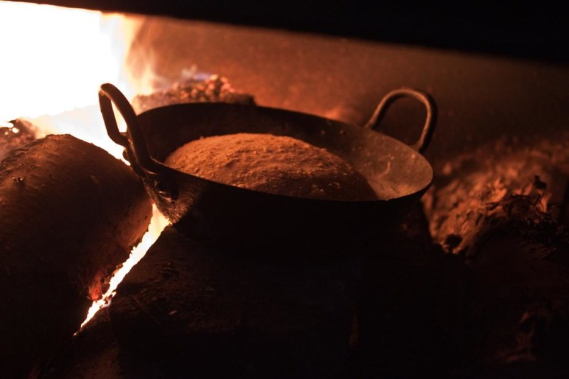 Baking In The Fire