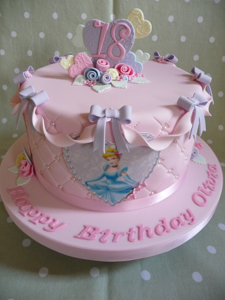 Disney Princess Cake  18th Birthday Cake   Debbie  Flickr